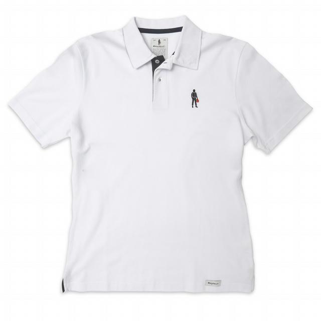 Short Sleeves Polo Driver Icon White XXL