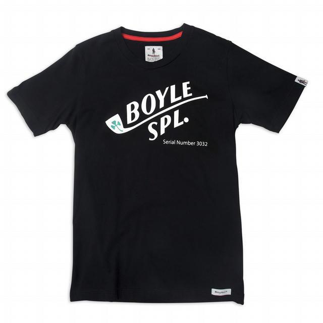Crew Neck Short Sleeves Boyle  Black M