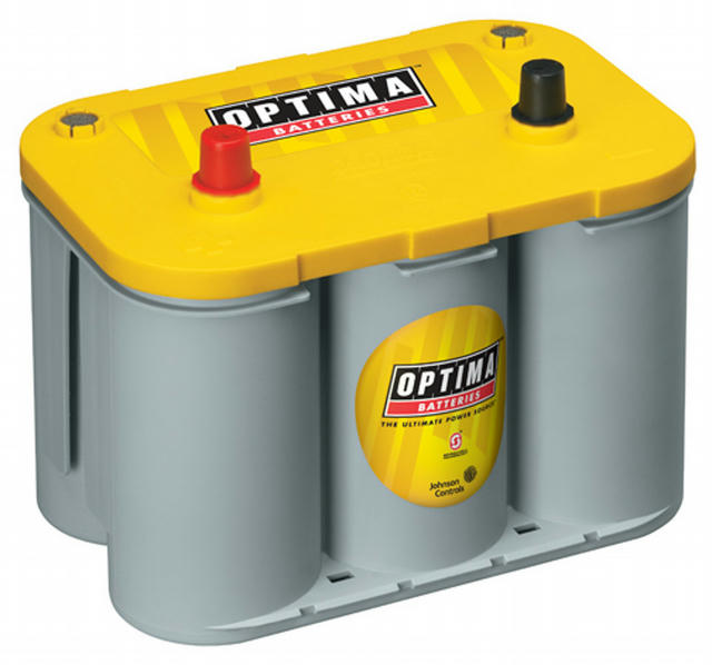 Battery Yellow Top 750cc a/870ca 34 Top Post