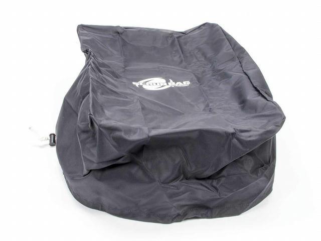 Rectangular Scrub Bag Black