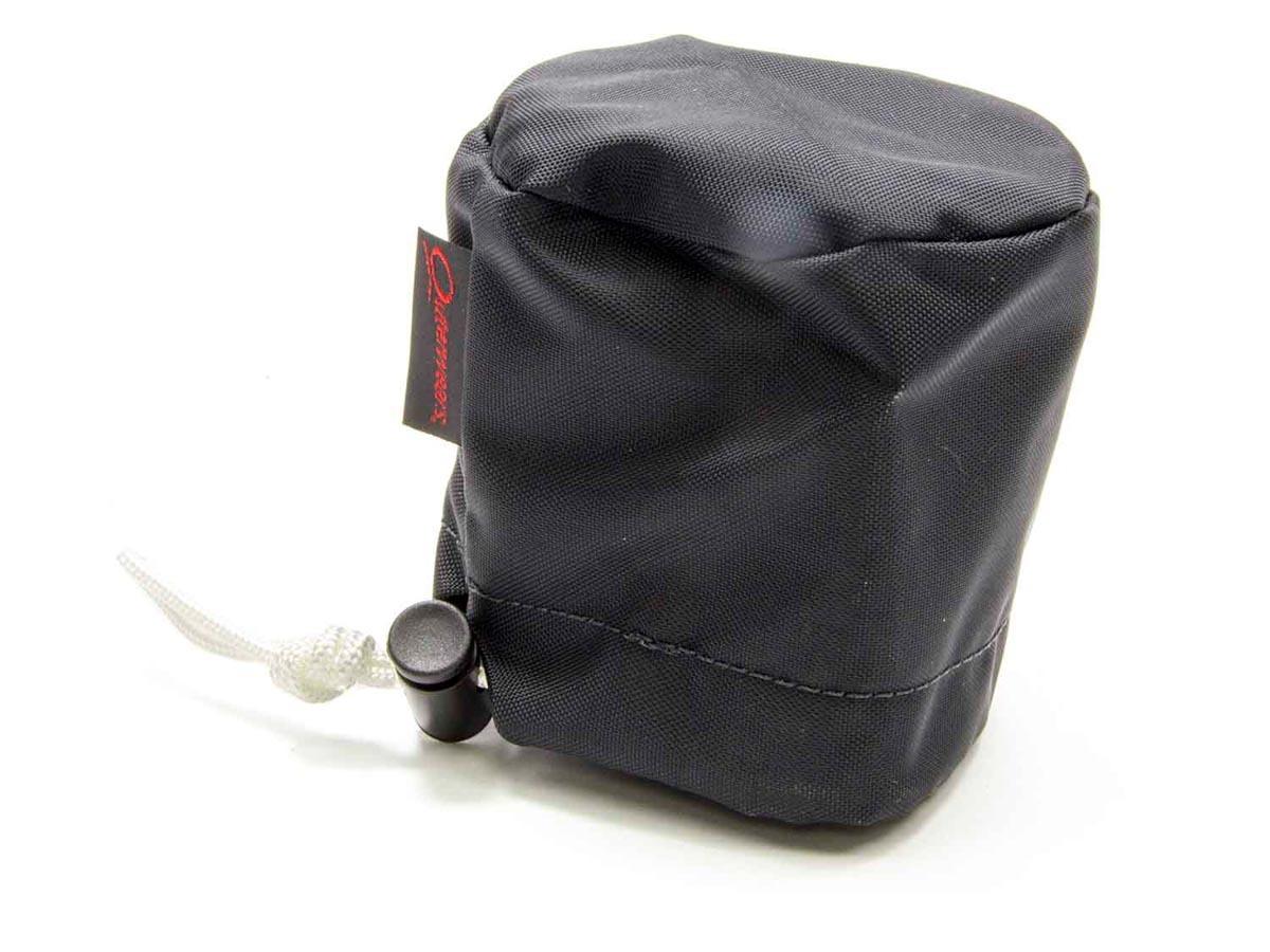 Scrub Bag Black 3in Breather