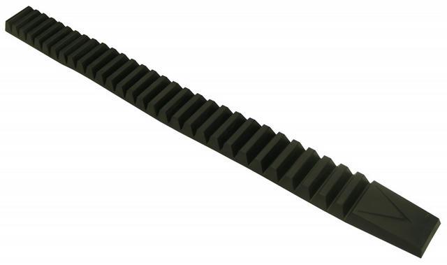 Heavy Duty Bumper Guards 28-1/2in Long Black Pair
