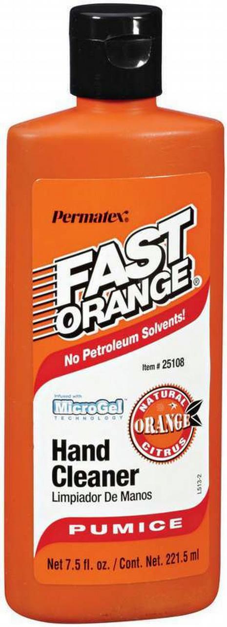 Fast Orange 7.5 Oz w/pumice