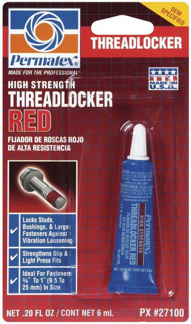 Threadlocker Red