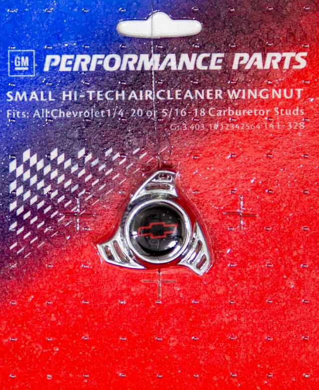 Air Cleaner Center Nut- Small Hi Tech Bowtie