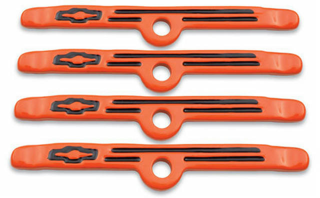 Valve Cover Hold-Downs - Orange 4pcs.