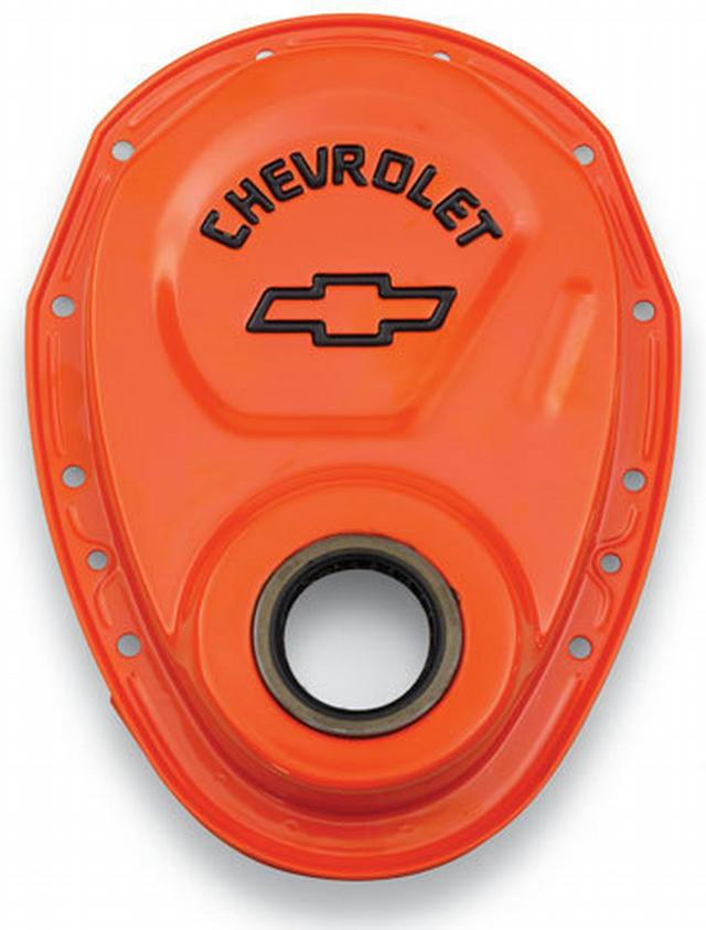 Timing Chain Cover - 69-91 GM Orange