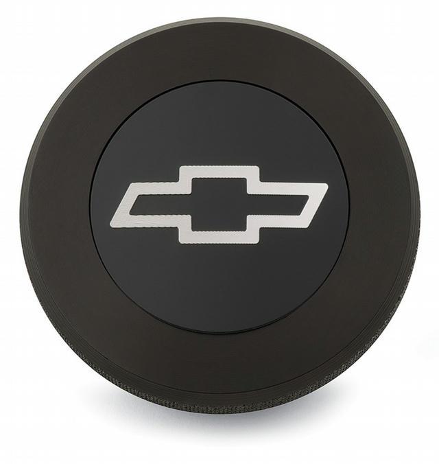 Bowtie Billet Radiator Cap Black 13psi
