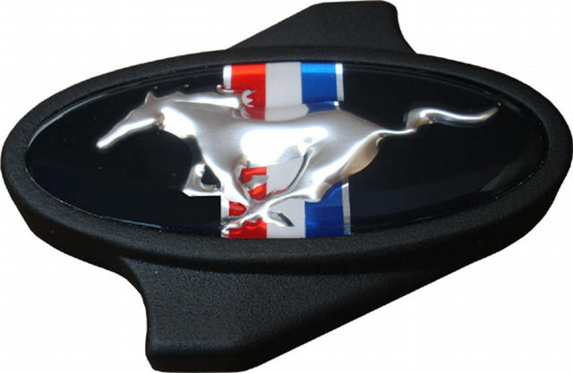 Mustang Pony Air Cleaner Center Nut Black