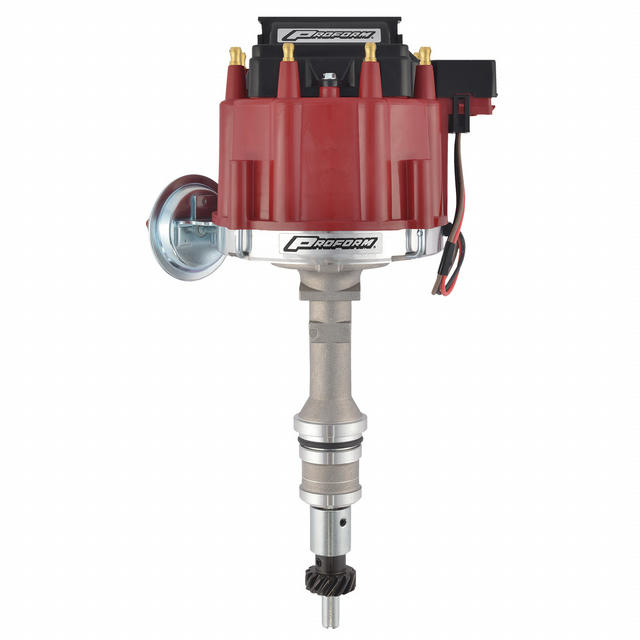 Ford 351W HEI Electronic Distributor - Red Cap