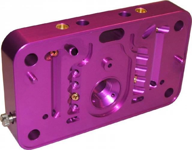 Billet Aluminum Carb. Metering Block