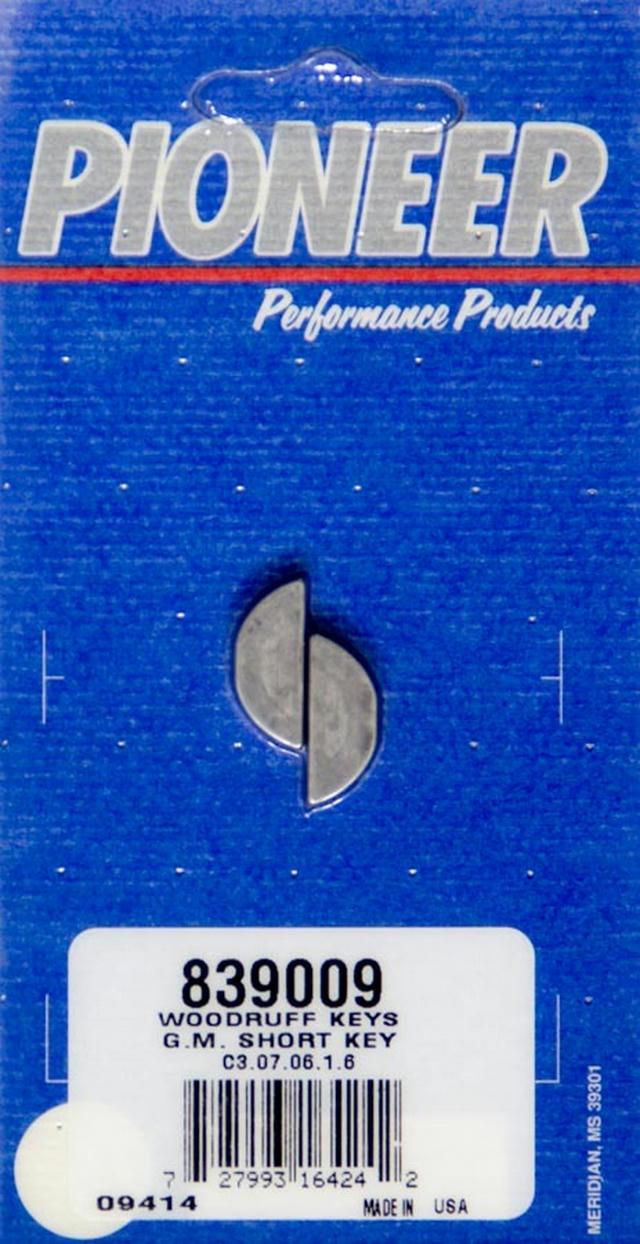 Woodruff Key Kit