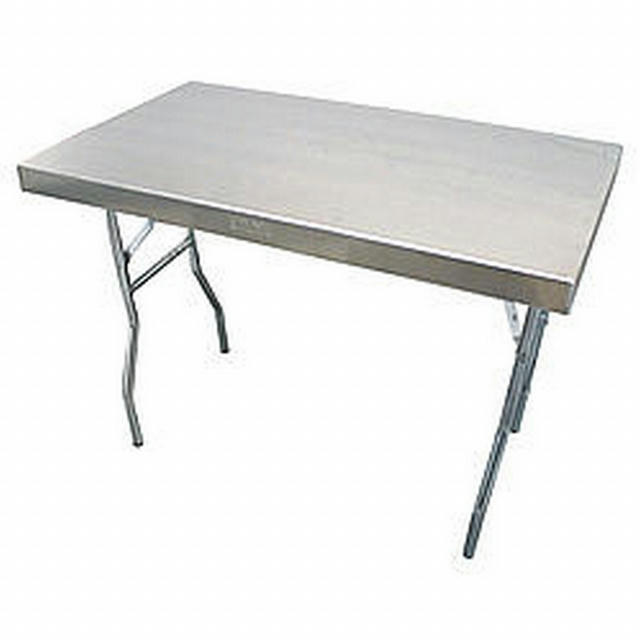 Aluminum Work Table 25x42