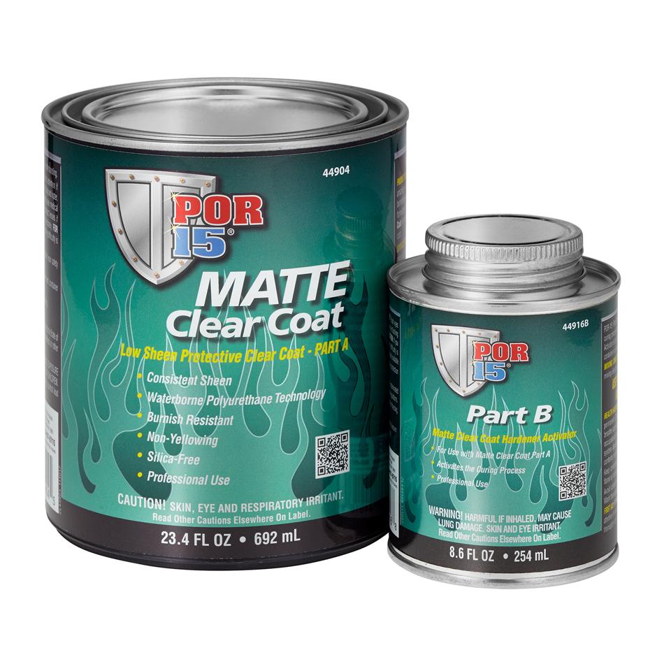 Matte Clear Coat Quart