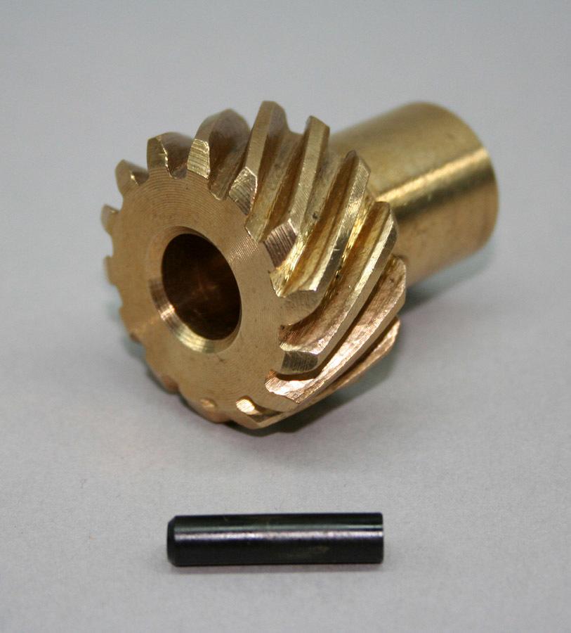 Bronze Distributor Gear - .491 ID Pontiac V8