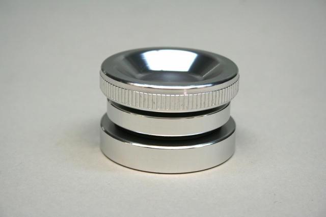 Valve Cover Oil Fill Cap Kit Silver Anodized
