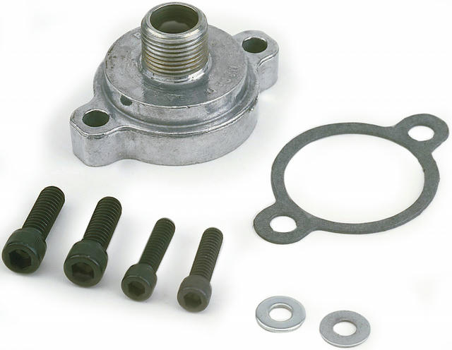 Chevy Oil Filter Adapter