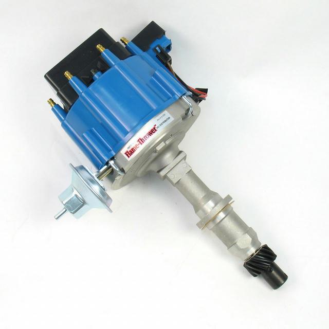 Pont. V8 HEI Distributor w/Blue Cap