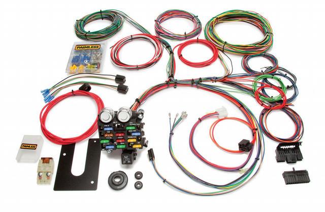 21 Circuit Wiring Harnes For PU Trucks&4x4 GM Key