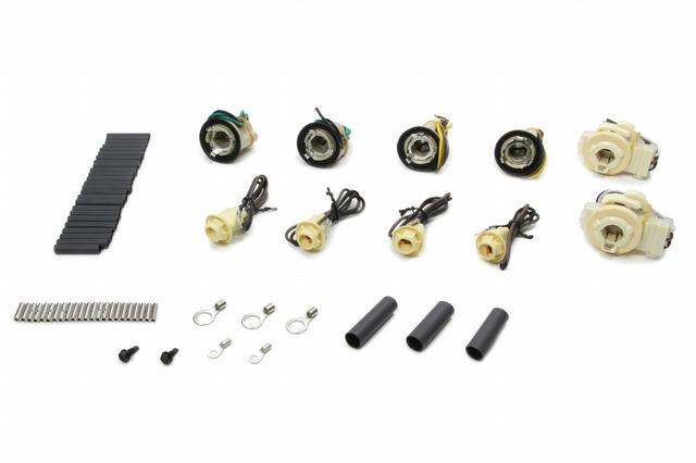 80-87 GM P/U Dual Square Headlights Pigtail Kit