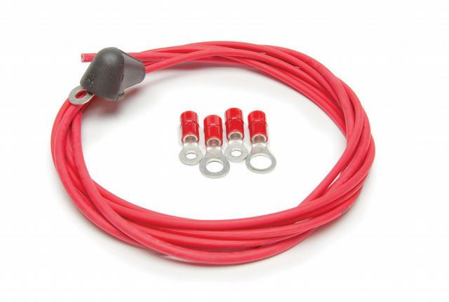 High Output Alternator Wire w/boot