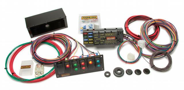 10 Circuit Race Car Wiring Harness