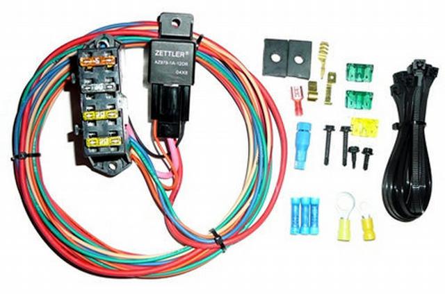 3 Circuit HD High Amp Single 70 Amp Relay