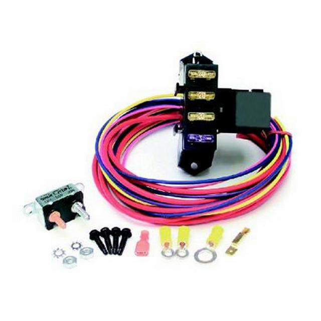 3 Circuit Fuse Block Weather Resistant
