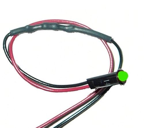 1/8in Green Dash Light