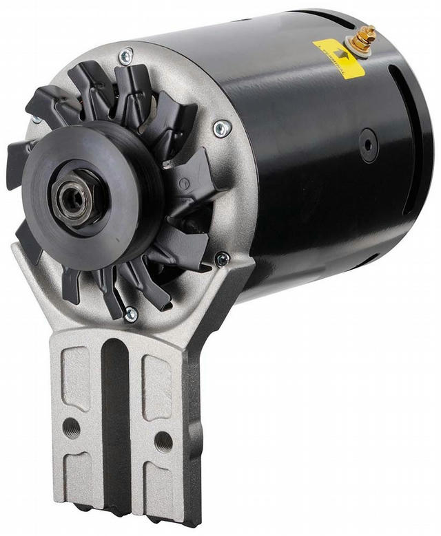 PowerGEN Ford Black Flat Head Front Mounting