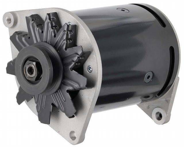Power Generator Ford 90 Amps Swing Mount Black