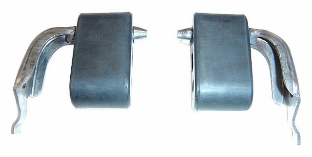 79-93 Mustang Tailpipe Hangers Pair