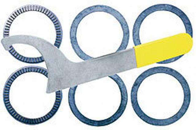 Spanner Wrench & Thrust Bearing Kit