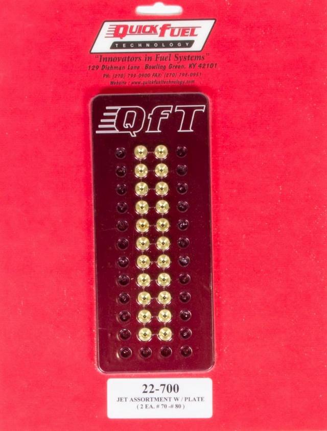 Jet Assortment Kit - #70 to #80