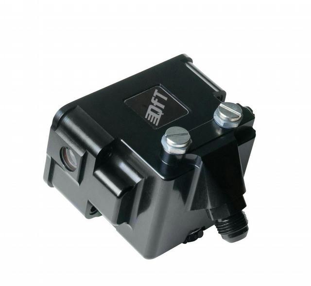Billet Fuel Bowl w/Dual Needle & Seat - Black