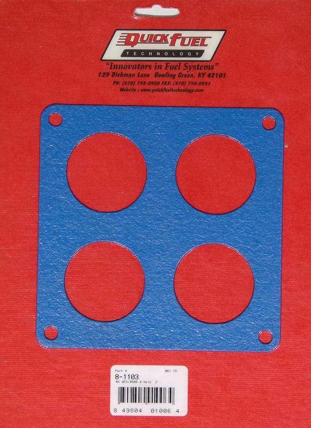 4500 4-Hole Flange Gasket - Non-Stick