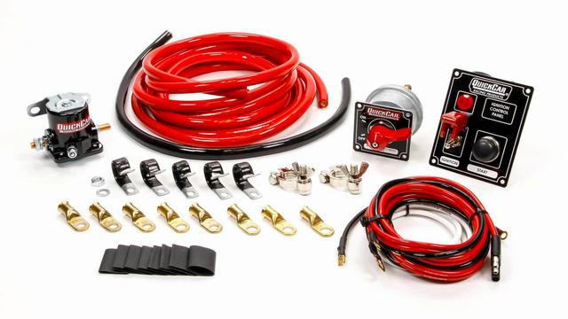 Wiring Kit 2 Gauge with Black 50-853 Panel