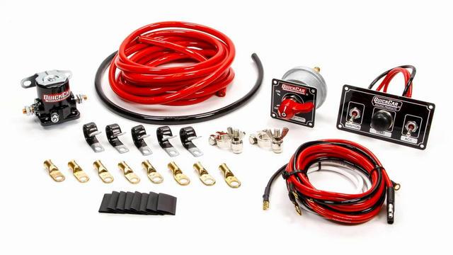 Wiring Kit Premium 4 Ga w/Black 50-820 Panel
