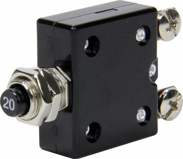 20 Amp Resettable Circuit Breaker