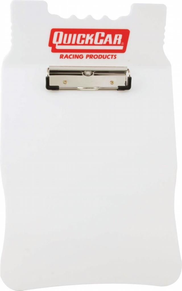 Acrylic Clipboard White