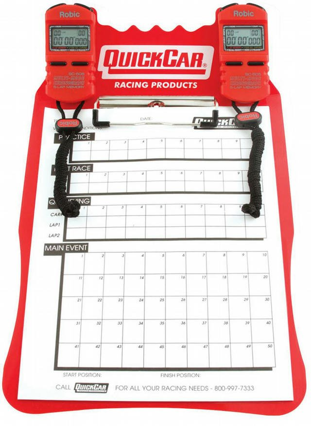 Clipboard Timing System Red