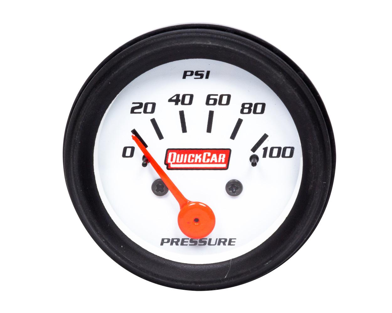 Gauge Oil Pressure 2in Open Wheel