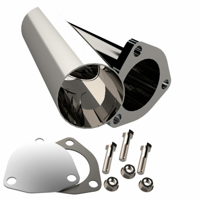2.50 Inch Stainless Stee l Exhaust Cutout