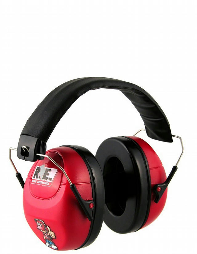 Hearing Protector Child Size Red