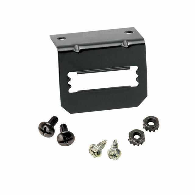 Mounting Bracket for 5-F lat Connectors
