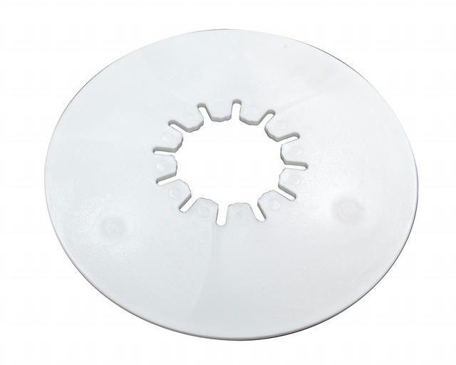 Fifth Wheel 10in Round L ube Plate 3/16in Thick