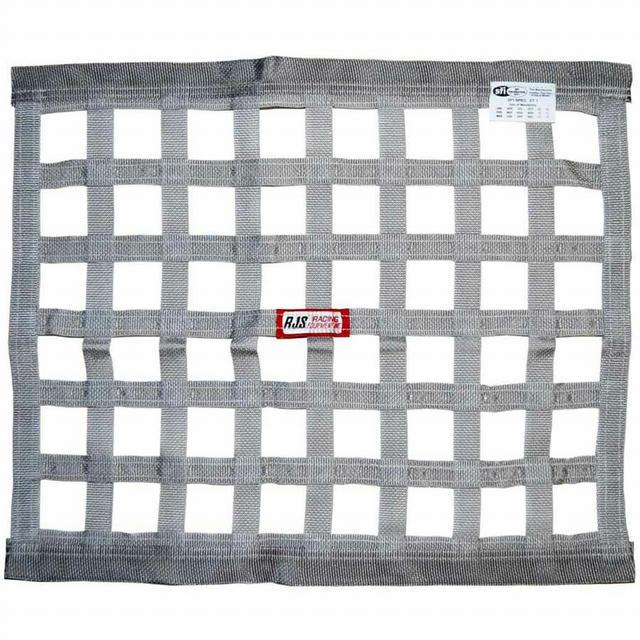 Gray Ribbon Window Net 18x24