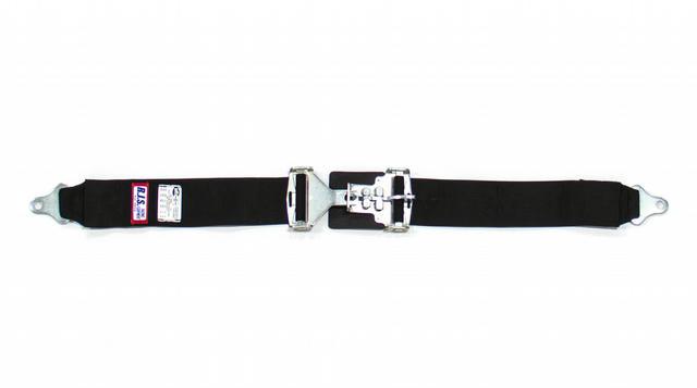 3in Lap Belts Black
