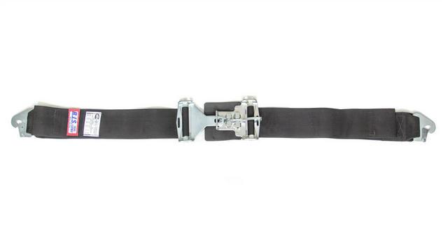 3in Lap Belts W/Snap End Black