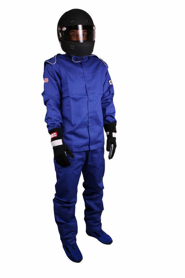 Jacket Blue Medium SFI-3-2A/5 FR Cotton